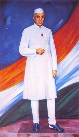 С.Н. Рерих. Шри Джавахарлал Неру. 1966